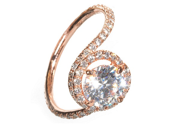 tacori-engagement-rings-in-rose-gold 30 Elegant Design Of Engagement Rings In Rose Gold
