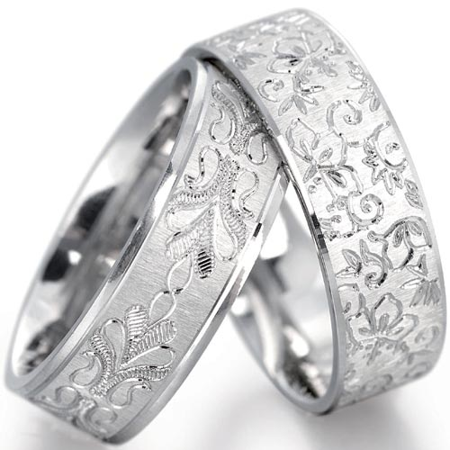 wedding-rings-white-gold-01 Top 22+ Unique And Elegant Designs Of Wedding Rings