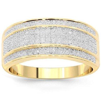 yellow-diamond-wedding-rings-for-men-zebmhzjw Top 22+ Unique And Elegant Designs Of Wedding Rings