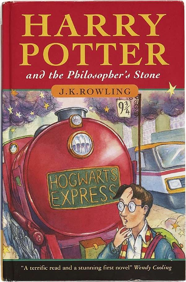 3-Harry-Potter-and-the-Philosophers-Stone 5 Best-Selling Books Of All Time