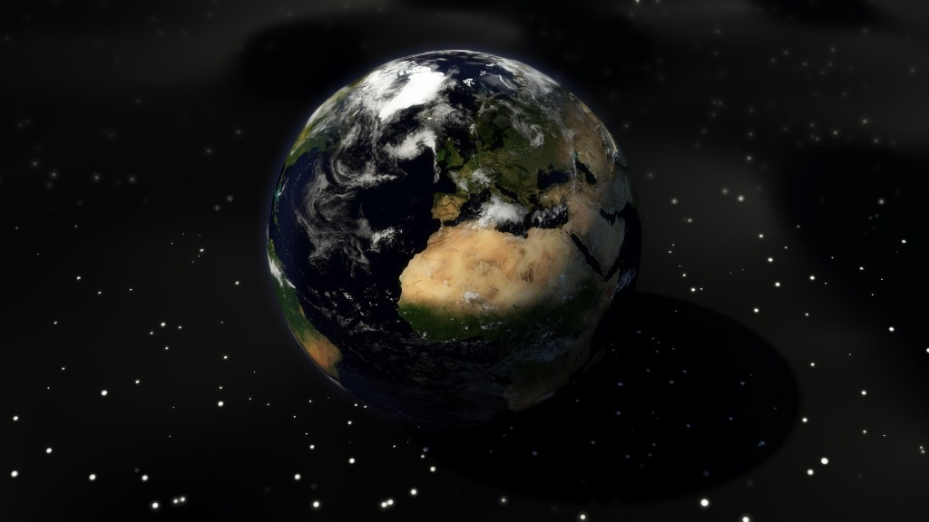 Earth-from-space-1 Why Is the Earth Flat & Not Round?!!