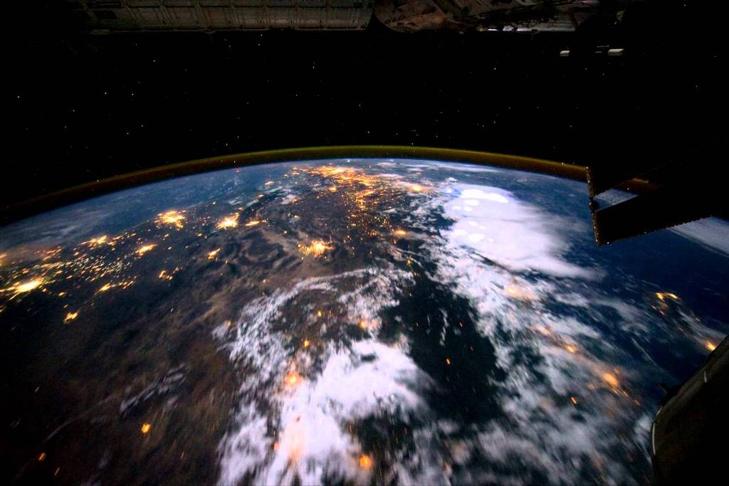 Earth-from-space-5 Why Is the Earth Flat & Not Round?!!