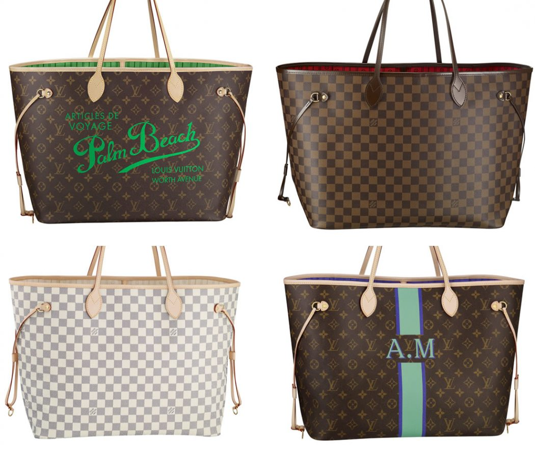 Louis-Vuitton-Neverfull-Bags 3 Top Louis Vuitton Handbags That You Must Have