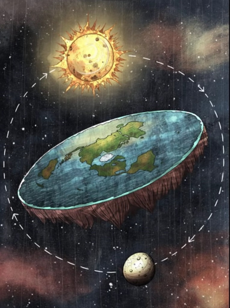 flat-Earth Why Is the Earth Flat & Not Round?!!