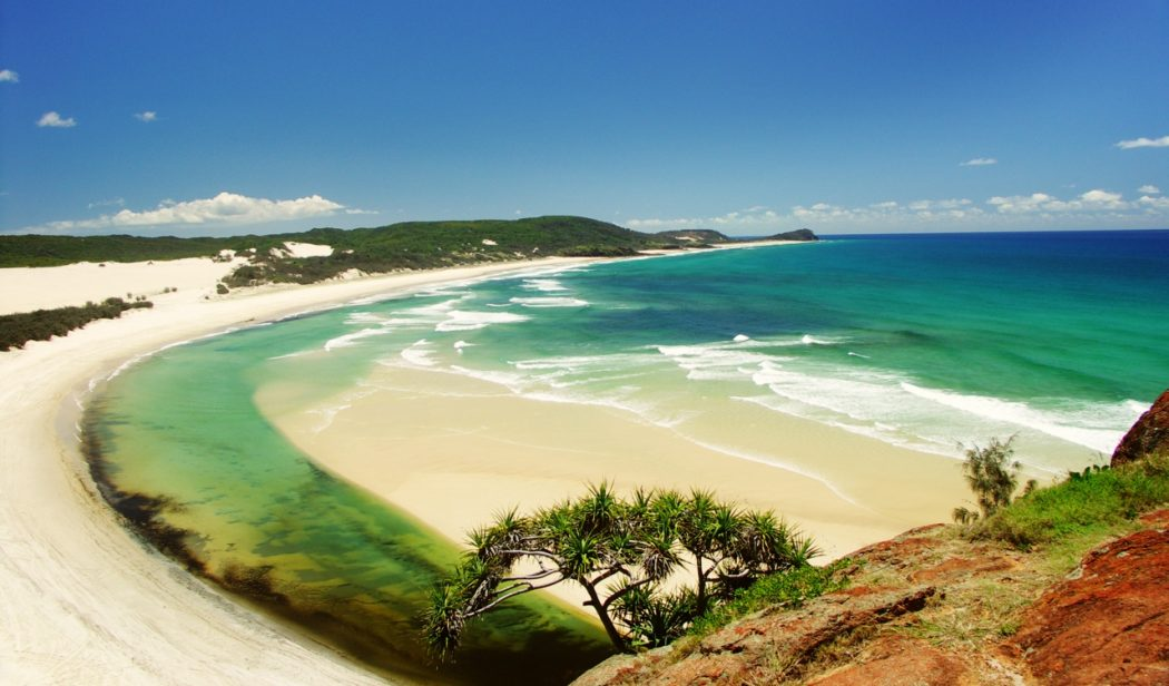 fraser-island-sandy-paradise-in-queensland 5 Most Beautiful Beaches in The World