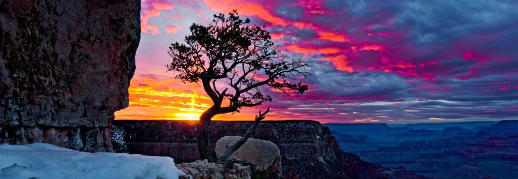 grand-canyon-sunset-grandeur-point-sunpillar 4 Best Places To Watch Sunset Around The World