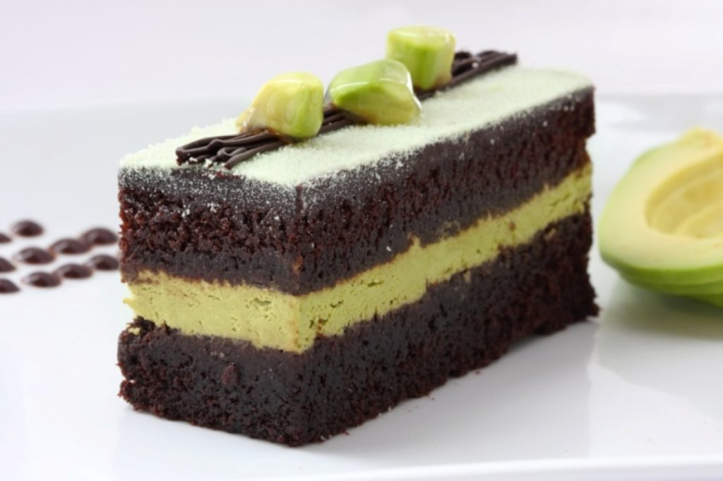 Avocado-Chocolate-Cake-with-Avocado-Butter-cream-1 Unusual Cake Recipe Ideas That You should Try  [Video Tutorials] ...