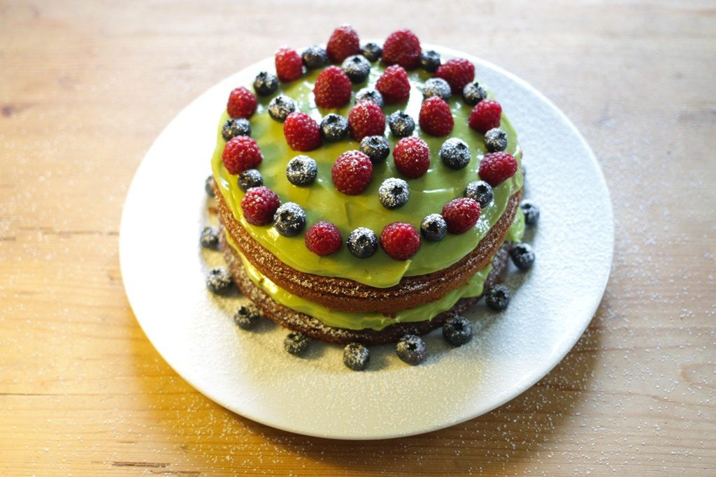 Avocado-Chocolate-Cake-with-Avocado-Butter-cream-8 Unusual Cake Recipe Ideas That You should Try  [Video Tutorials] ...
