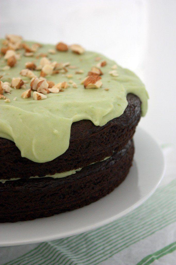 Avocado-Chocolate-Cake-with-Avocado-Butter-cream Unusual Cake Recipe Ideas That You should Try  [Video Tutorials] ...