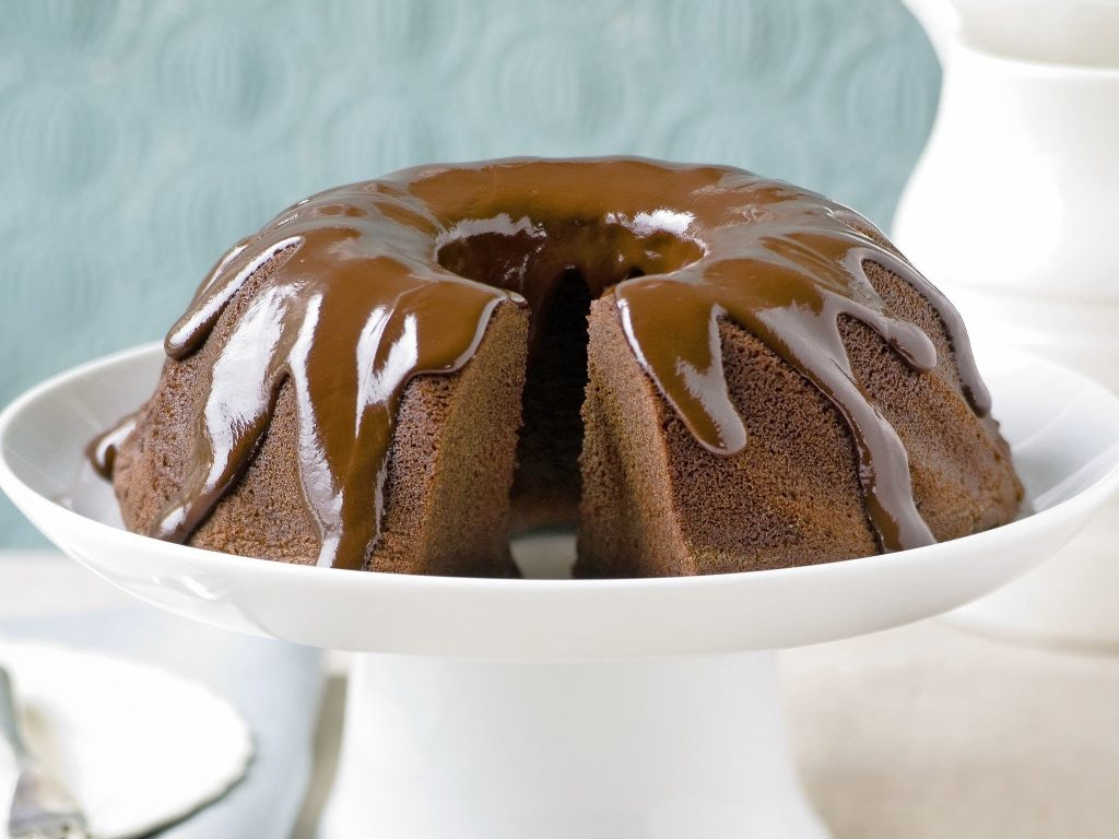 Chocolate-Truffle-Sour-Cream-Bundt-Cake-7 Easiest Chocolate Cake Recipe That Will Impress You ...