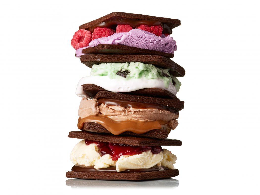 FNM_070114-Chocolate-Cookie-Ice-Cream-Sandwiches-Recipe_s4x3 2 Creative Dessert Recipes That Will Impress Your Husband