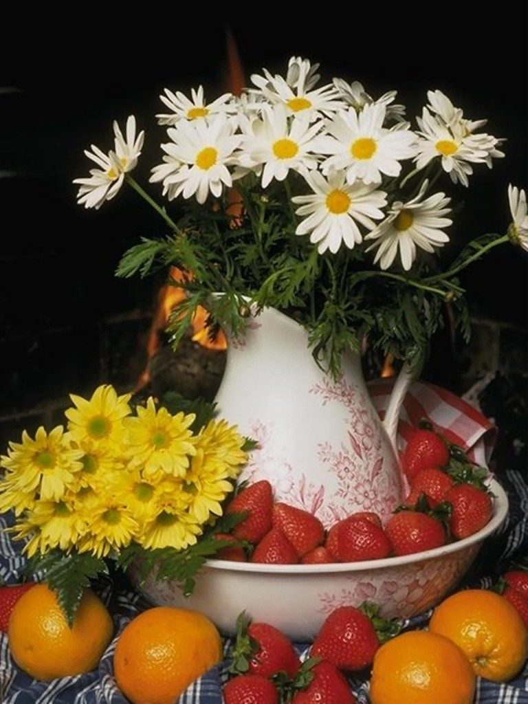 Fruit-and-Flower-Mixes-3 7 Tricks to Make Flowers Last forever ...