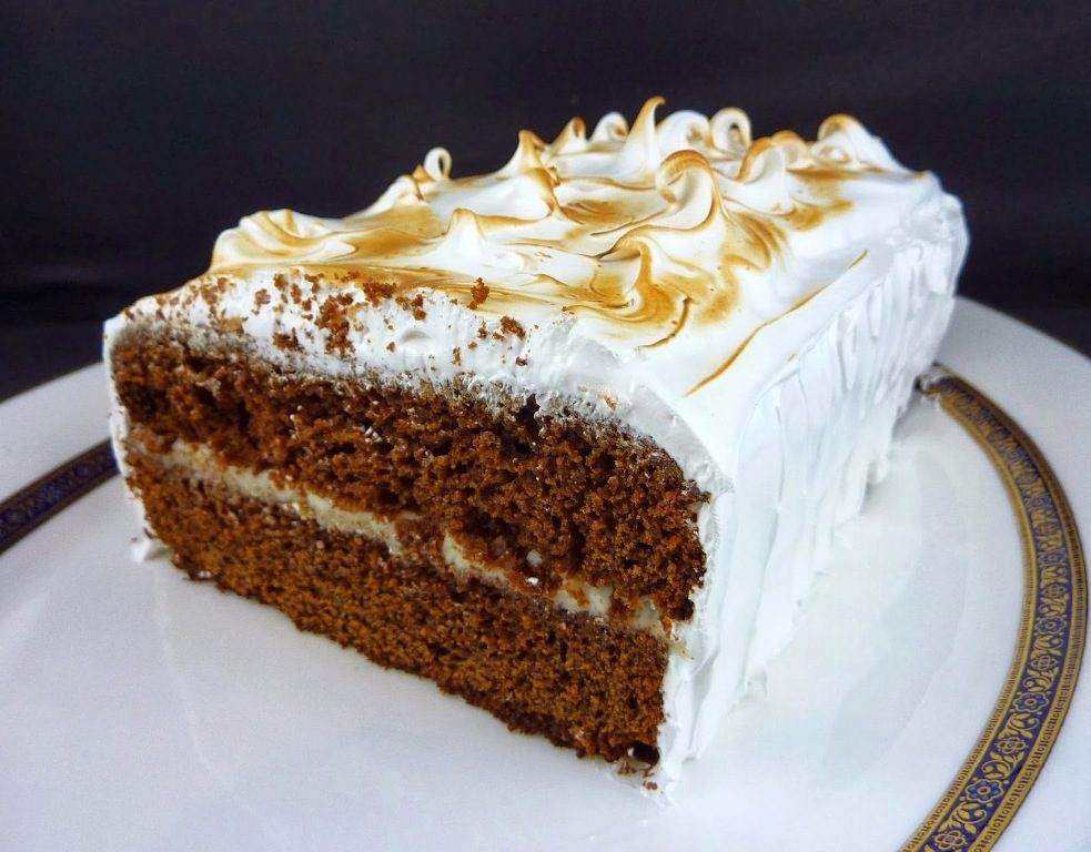 Ginger-Cake-And-Marshmallow-2 15 Most Unique Birthday Cake Recipes ... [With Images]
