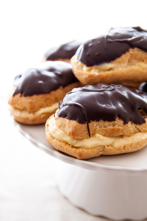 MiniEclairs-061-2 2 Creative Dessert Recipes That Will Impress Your Husband