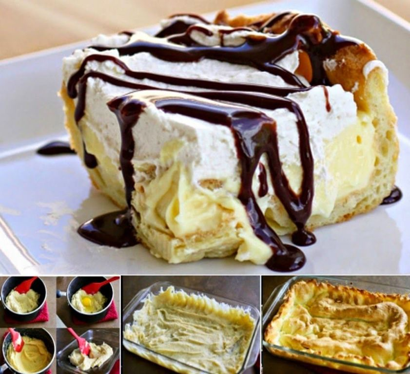 eclair-cake-and-Chocolate-Ganache-2 15 Most Unique Birthday Cake Recipes ... [With Images]