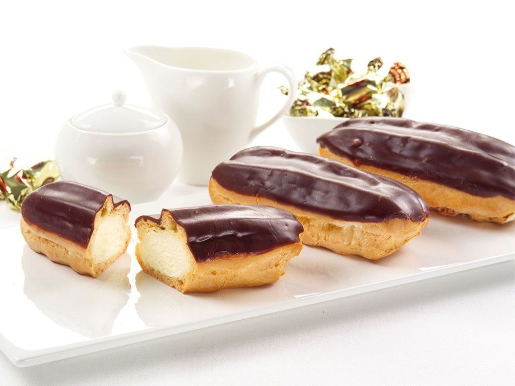 eclairs-and-Chocolate-Ganache-1 15 Most Unique Birthday Cake Recipes ... [With Images]