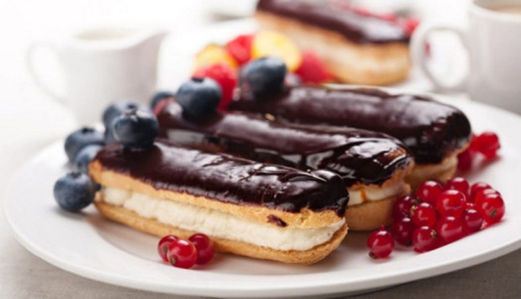 eclairs-and-Chocolate-Ganache-3 15 Most Unique Birthday Cake Recipes ... [With Images]