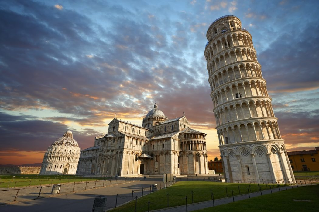pisa Everyone Loves These 4 Tourist Attraction Places in Italy