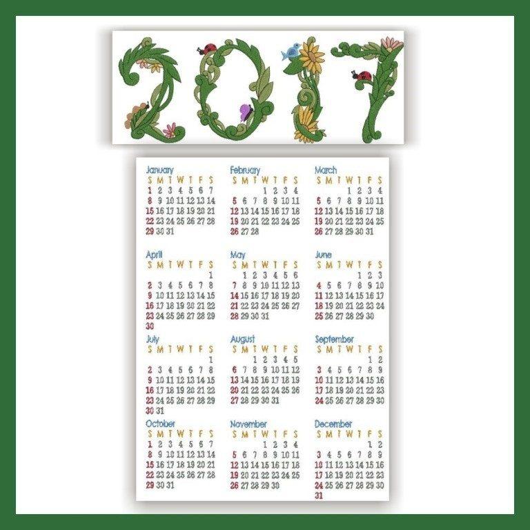 2017-calendar-23 58 Stunning Printable Calendar Templates