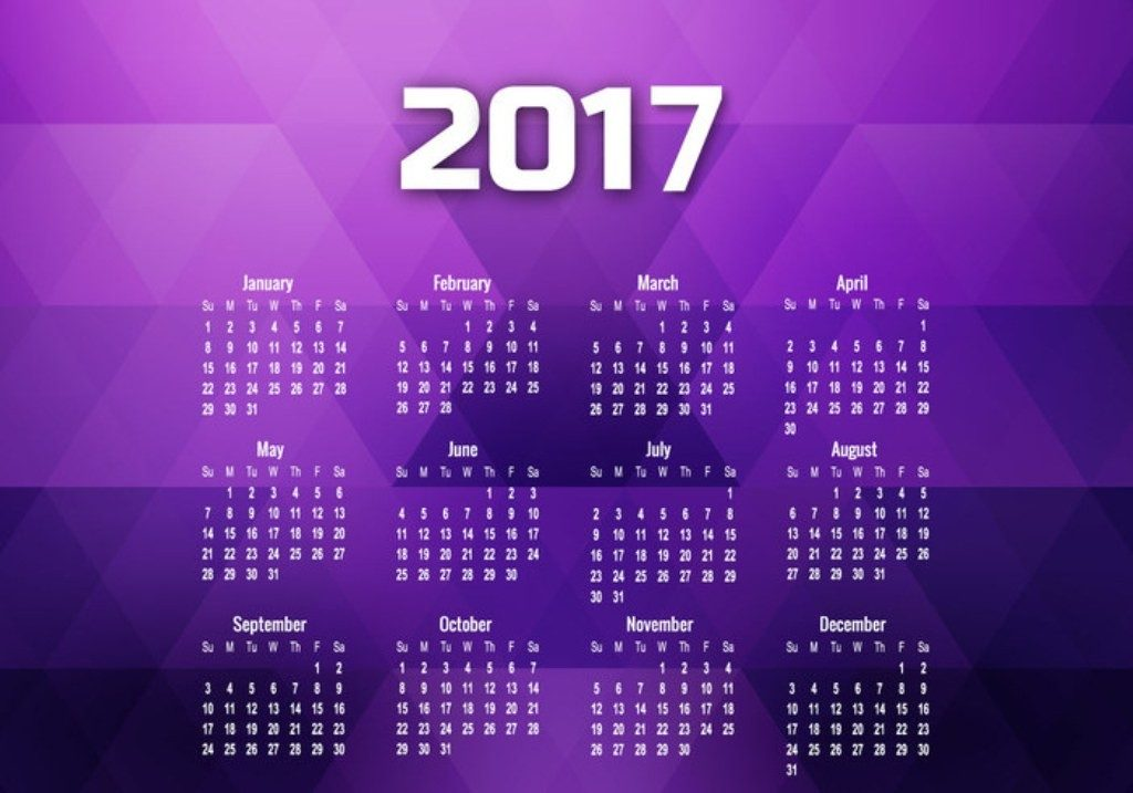 2017-calendar-30 58 Stunning Printable Calendar Templates