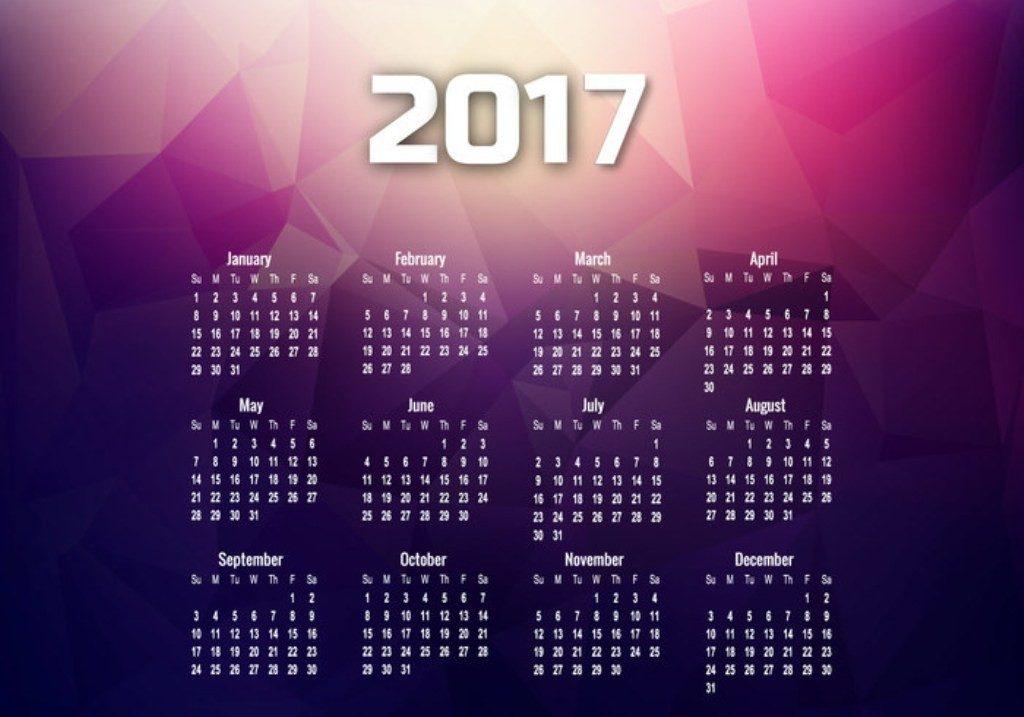 2017-calendar-39 58 Stunning 2017 Printable Calendar Templates