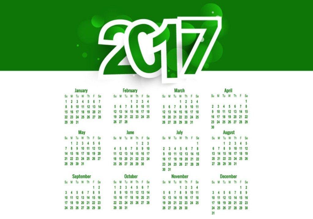 2017-calendar-46 58 Stunning Printable Calendar Templates