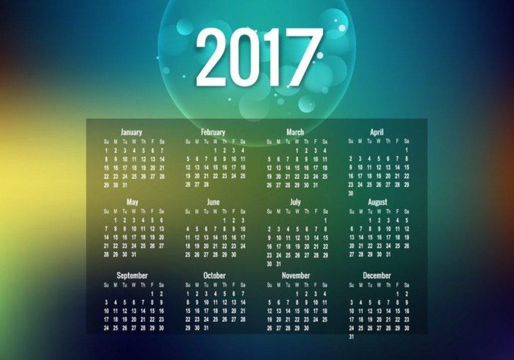 2017-calendar-47 58 Stunning Printable Calendar Templates
