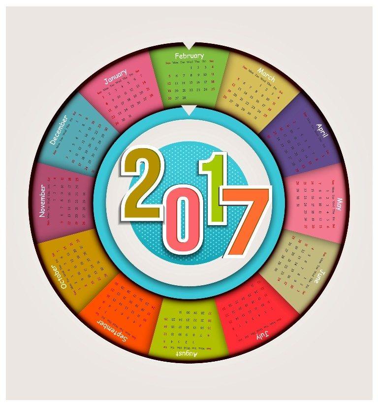 2017-calendar-52 58 Stunning 2017 Printable Calendar Templates
