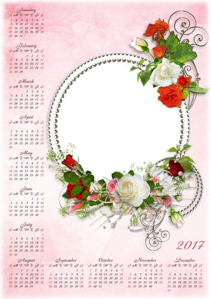 2017-calendar-6 58 Stunning Printable Calendar Templates