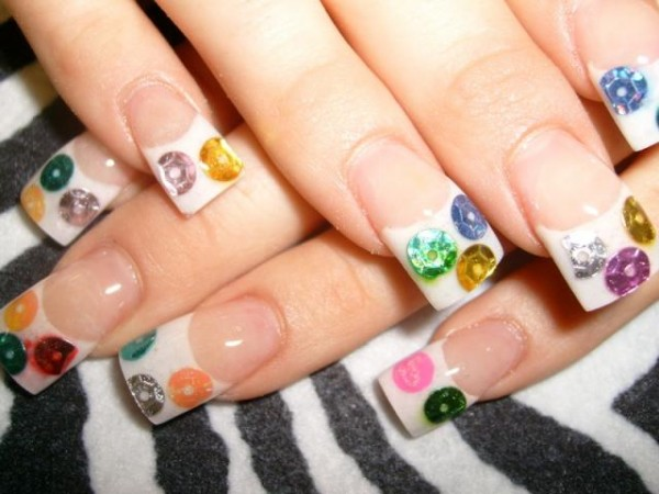 Amazing-White-Color-Cute-Acrylic-Your-Nails 35 Nails Designs; How Do You Paint Your Nails?