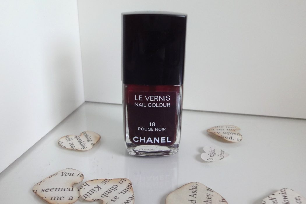 Chanel-Nail-Colour-Rouge-Noir 5 Surprising Facts About Chanel
