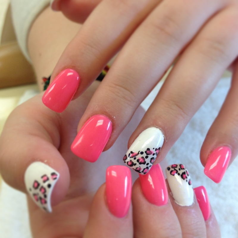 Cute-Leopard-Nail-Designs 35 Nails Designs; How Do You Paint Your Nails?