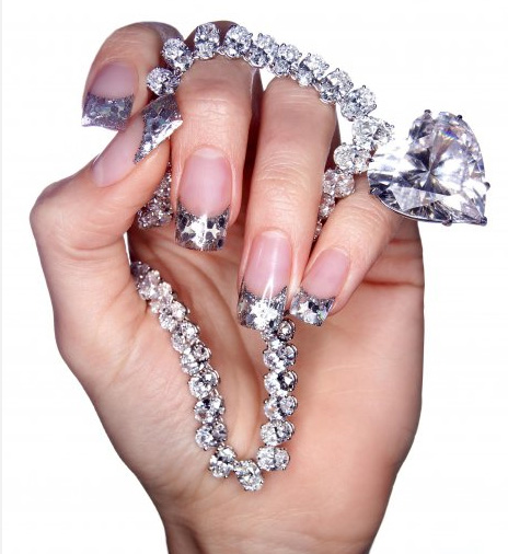 Diamond-Nails 35 Nails Designs; How Do You Paint Your Nails?