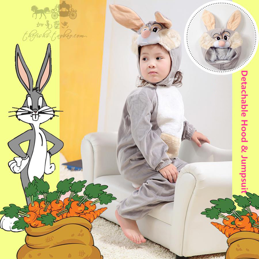Genuine-Deluxe-font-b-Baby-b-font-Infant-Kids-font-b-Furry-b-font-Bugs-Bunny 5 Most Wanted Halloween Beanie Babies Costumes & What To Consider
