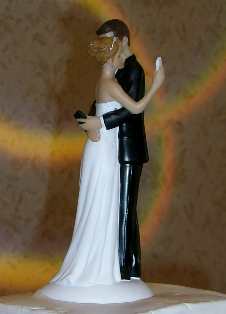 Hashtag-Wedding-cake-toppers-1 50+ Funniest Wedding Cake Toppers That'll Make You Smile [Pictures] ...