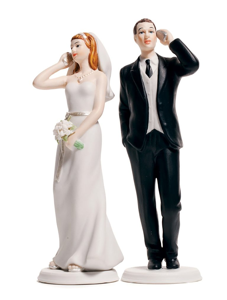 Hashtag-Wedding-cake-toppers-2 50+ Funniest Wedding Cake Toppers That'll Make You Smile [Pictures] ...