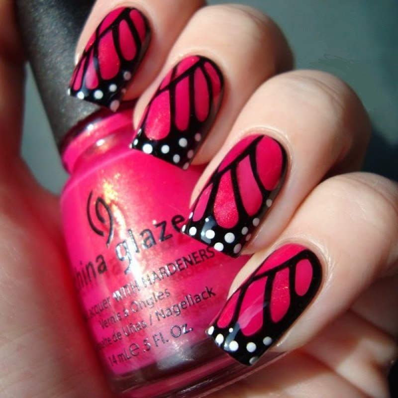 Hot-Beautiful-Spring-Nails-Ideas-1 35 Nails Designs; How Do You Paint Your Nails?