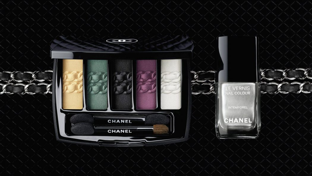 LIntemorel-De-Chanel-Eyeshadow-Palette-and-Le-Vernis-Intemporel-Nail-Colour-1 11 Tips on Mixing Antique and Modern Décor Styles