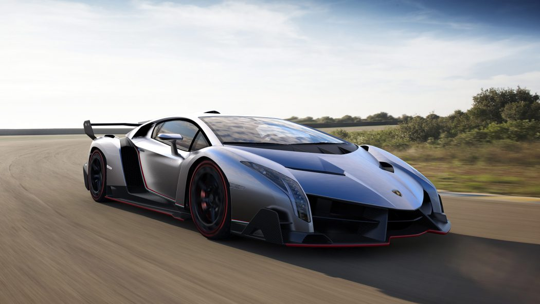 Lamborghini-Veneno-1 3 Most Expensive Cars in The World