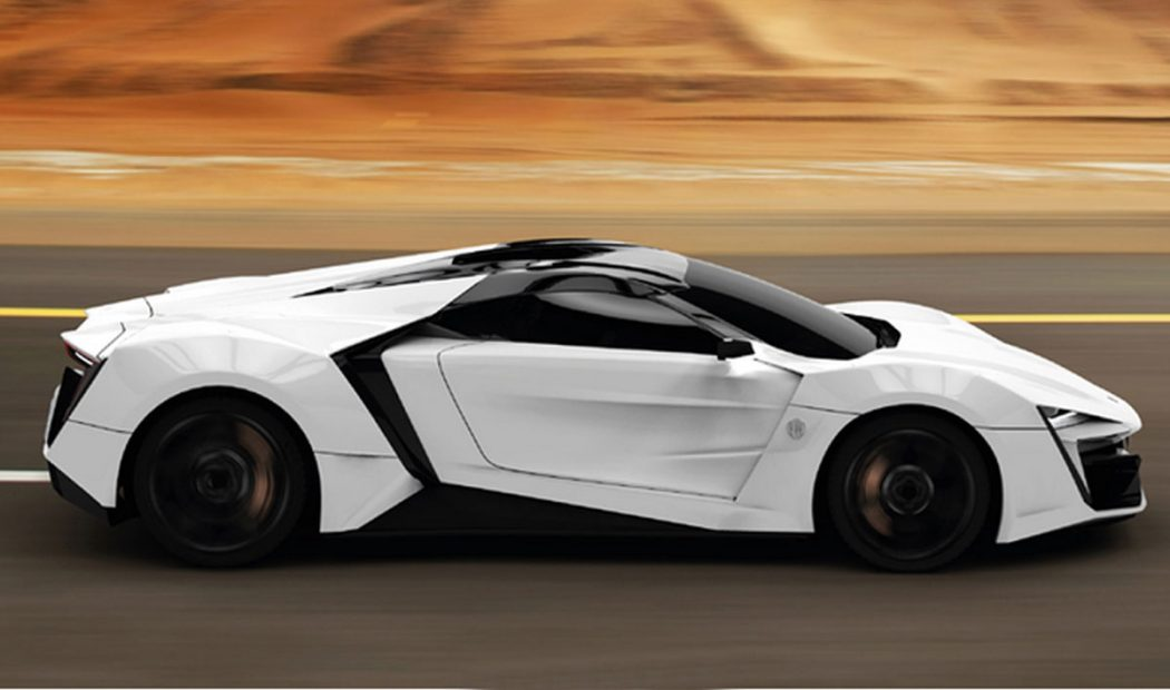 Lykan-Hypersport-1 3 Most Expensive Cars in The World