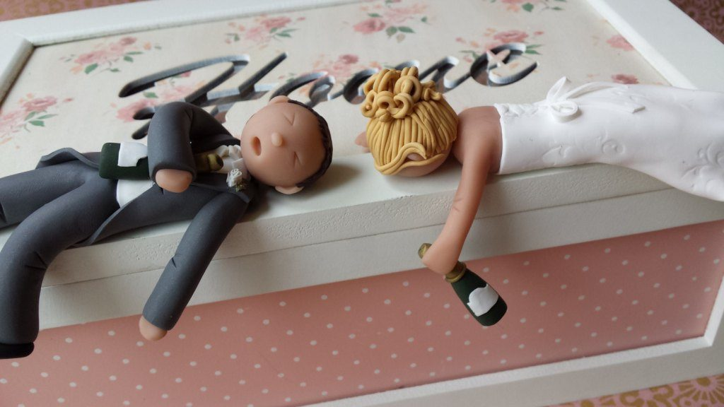 Partied-Too-Hard-wedding-cake-toppers-5 50+ Funniest Wedding Cake Toppers That'll Make You Smile [Pictures] ...