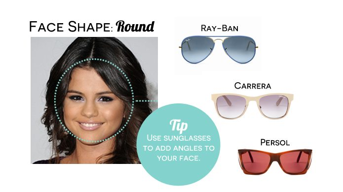 Round-face1 How To Find The Sunglasses Style That Suit Your Face Shape