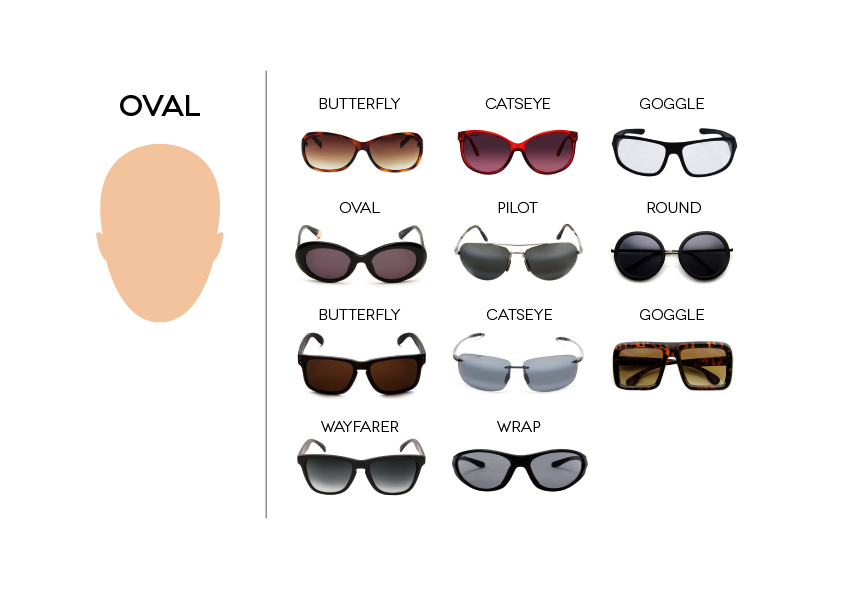 SUNGLASSES_Face_Oval._V320961732_ How To Find The Sunglasses Style That Suit Your Face Shape