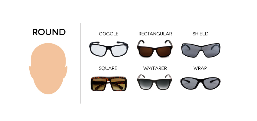 SUNGLASSES_Face_Round._V320961738_ How To Find The Sunglasses Style That Suit Your Face Shape