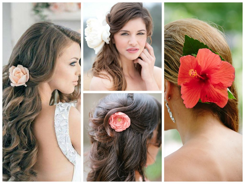 Single-bloom-6 50+ Most Creative Ideas to Put Flowers in Your Hair ...