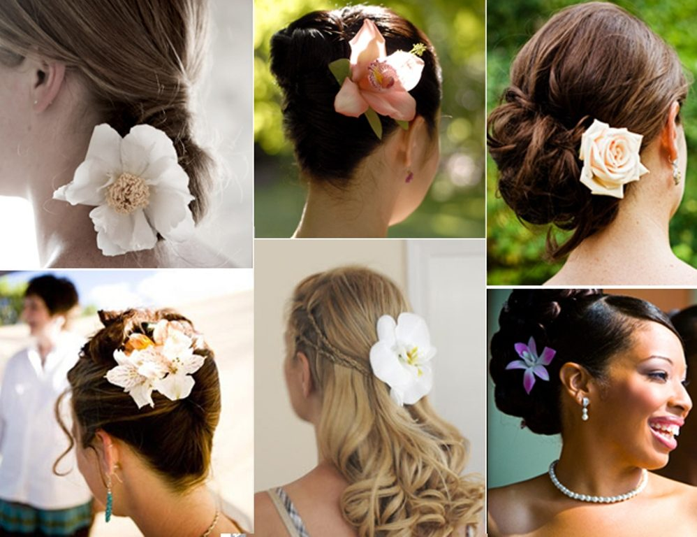 Single-bloom-7 50+ Most Creative Ideas to Put Flowers in Your Hair ...