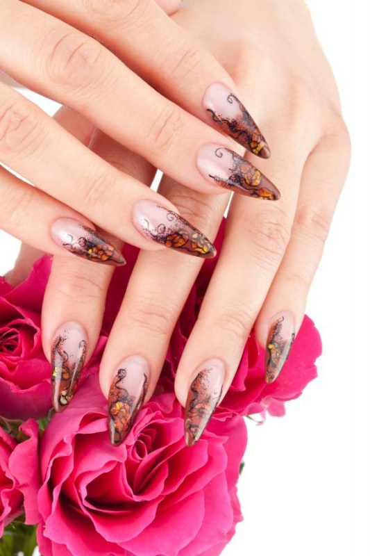 Spring-Trend-of-Nail-Designs 35 Nails Designs; How Do You Paint Your Nails?