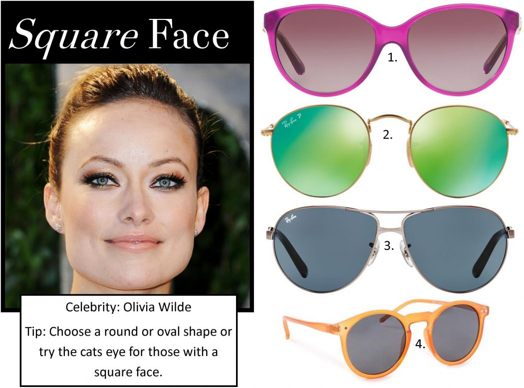 Sunglasses-Square-Face_0 How To Find The Sunglasses Style That Suit Your Face Shape