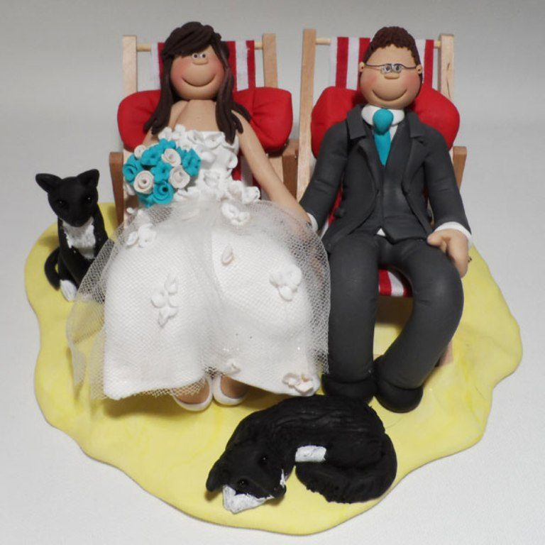 Too-Tired-After-The-Day-wedding-cake-toppers-2 50+ Funniest Wedding Cake Toppers That'll Make You Smile [Pictures] ...