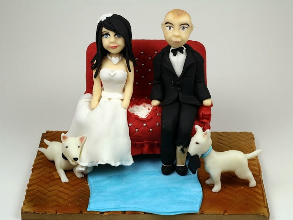 Too-Tired-After-The-Day-wedding-cake-toppers-3 50+ Funniest Wedding Cake Toppers That'll Make You Smile [Pictures] ...